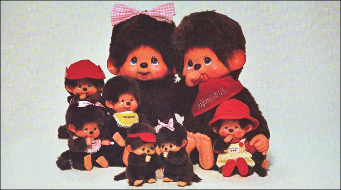Dolls : Monchhichi fashion pets